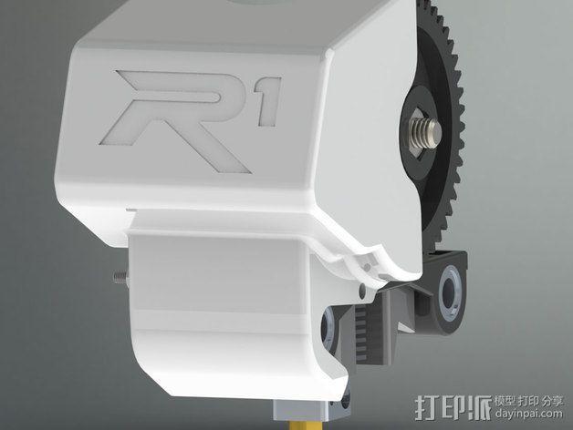ROBO挤出机护罩 3D模型  图3