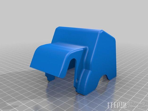 ROBO挤出机护罩 3D模型  图2