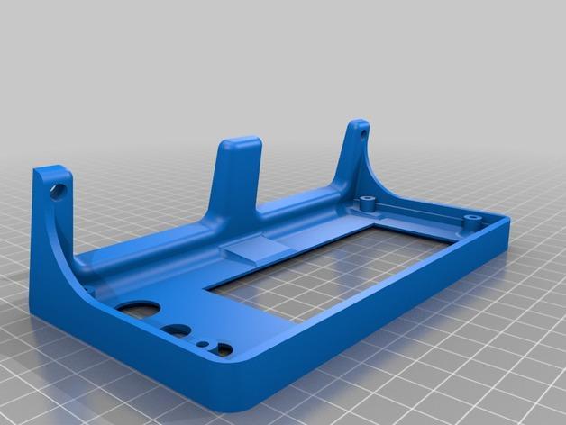 Cherry Pi 3D打印机线轴架/布线环 3D模型  图2