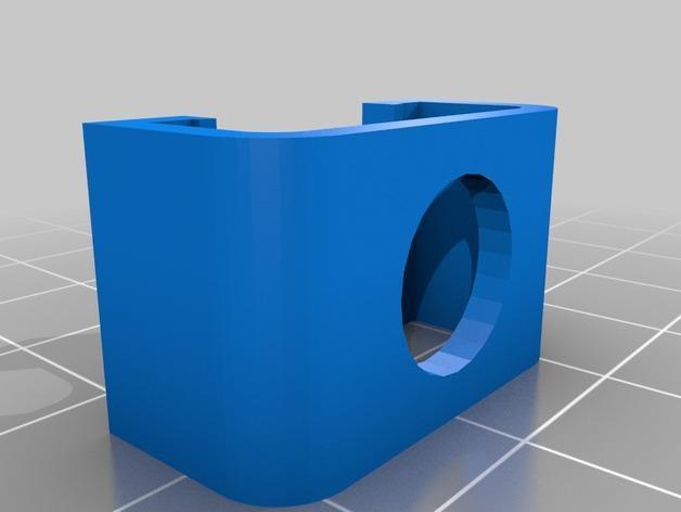Cherry Pi 3D打印机线轴架/布线环 3D模型  图4