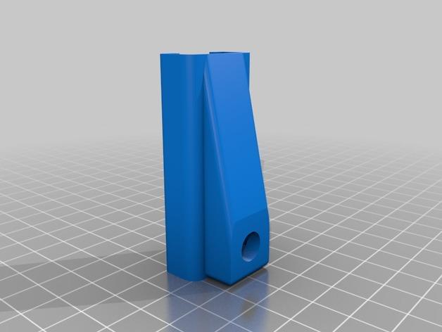 Cherry Pi 3D打印机线轴架/布线环 3D模型  图5