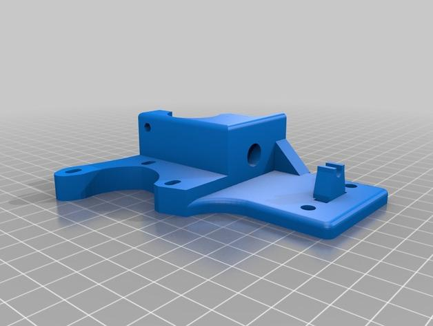 Cherry Pi 3D打印机线轴架/布线环 3D模型  图9