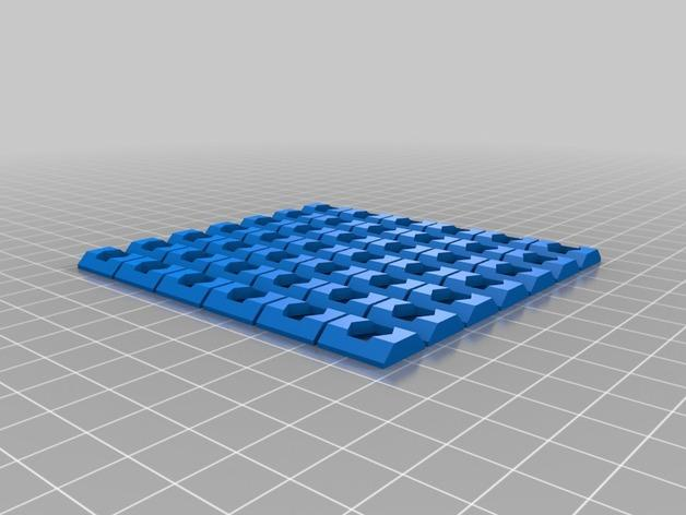 Cherry Pi 3D打印机线轴架/布线环 3D模型  图12