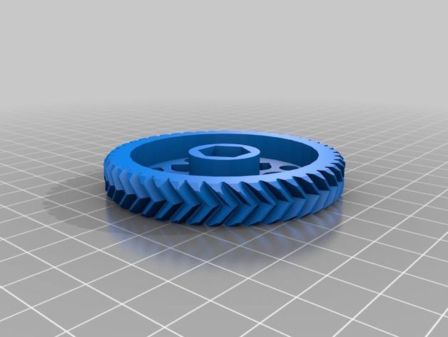 Cherry Pi 3D打印机线轴架/布线环 3D模型  图13