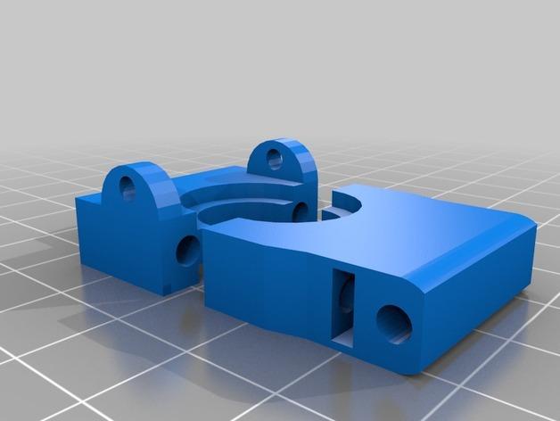 Cherry Pi 3D打印机线轴架/布线环 3D模型  图16