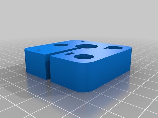 Cherry Pi 3D打印机线轴架/布线环 3D模型  图17