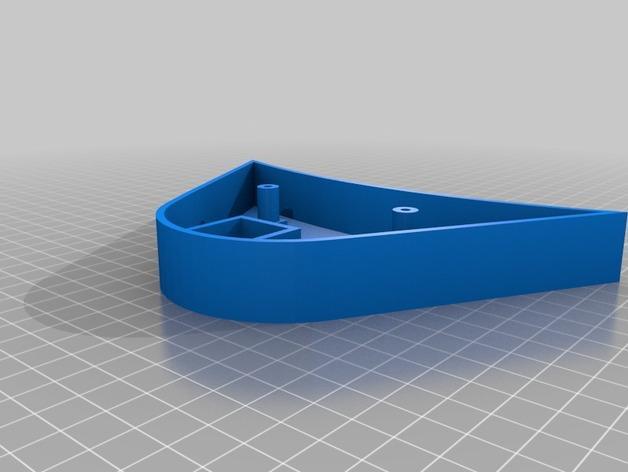 Cherry Pi 3D打印机线轴架/布线环 3D模型  图18