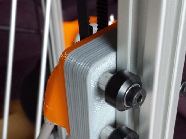 Cherry Pi 3D打印机线轴架/布线环 3D模型  图24