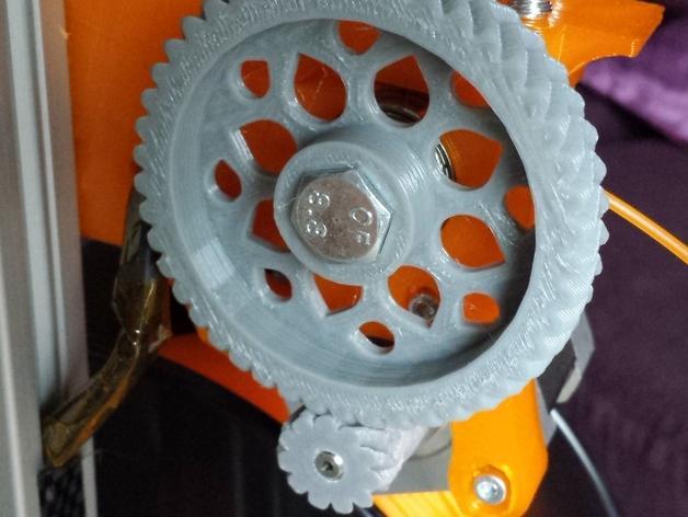 Cherry Pi 3D打印机线轴架/布线环 3D模型  图26