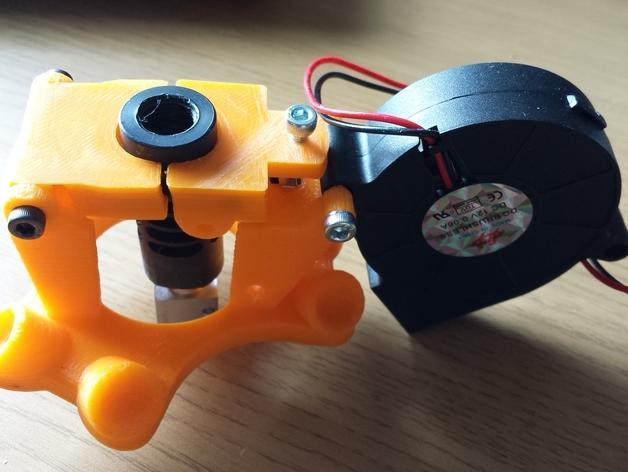 Cherry Pi 3D打印机线轴架/布线环 3D模型  图30