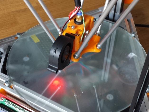 Cherry Pi 3D打印机线轴架/布线环 3D模型  图32