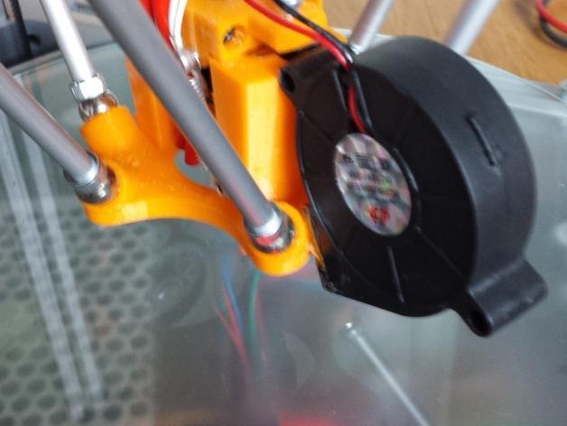 Cherry Pi 3D打印机线轴架/布线环 3D模型  图31
