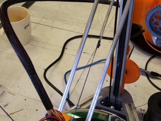 Cherry Pi 3D打印机线轴架/布线环 3D模型  图41
