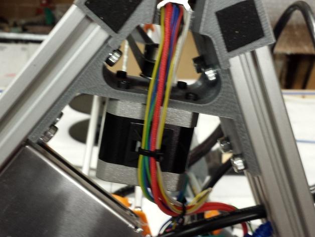 Cherry Pi 3D打印机线轴架/布线环 3D模型  图48