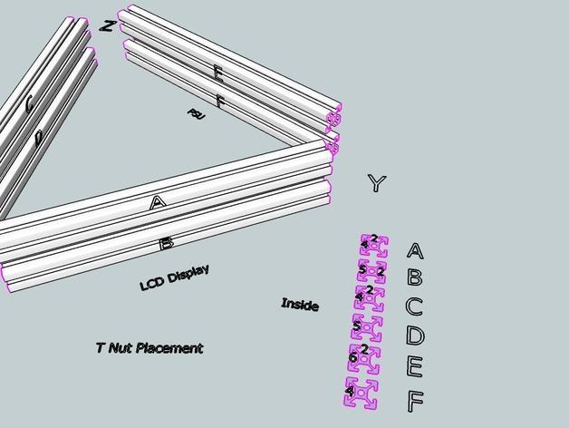 Cherry Pi 3D打印机线轴架/布线环 3D模型  图50