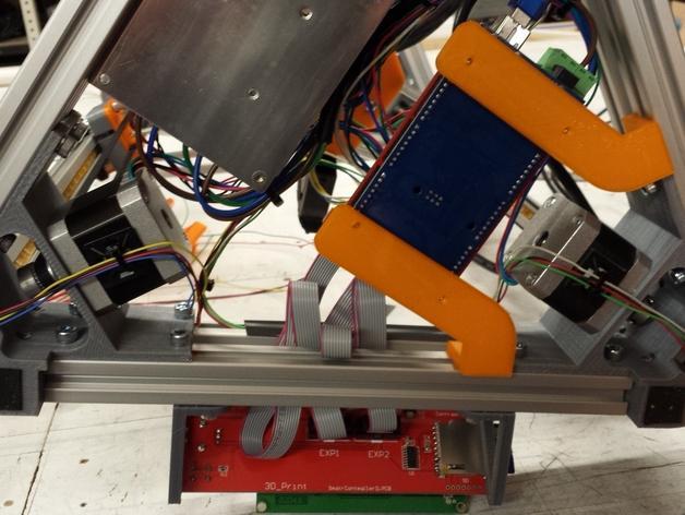 Cherry Pi 3D打印机线轴架/布线环 3D模型  图52