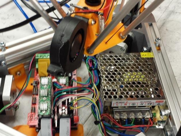 Cherry Pi 3D打印机线轴架/布线环 3D模型  图51