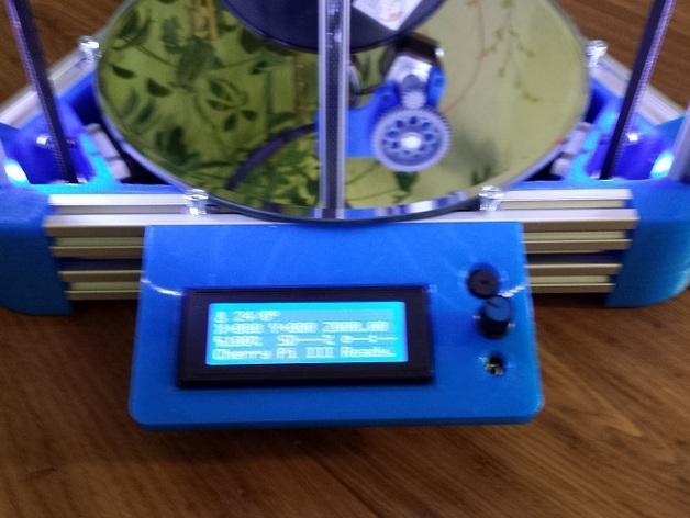 Cherry Pi 3D打印机线轴架/布线环 3D模型  图56