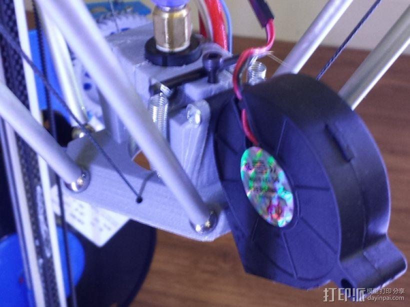 Cherry Pi 3D打印机线轴架/布线环 3D模型  图59
