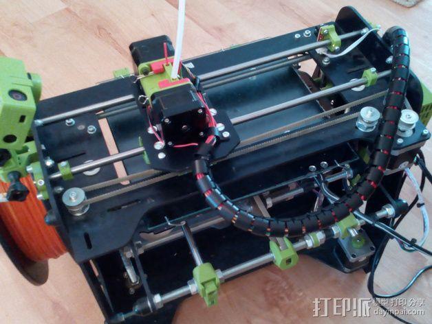 迷你双挤出机 3D模型  图4
