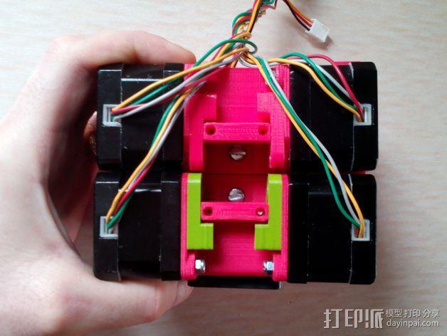 迷你双挤出机 3D模型  图7