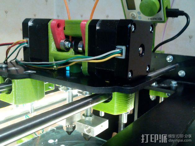 迷你双挤出机 3D模型  图5