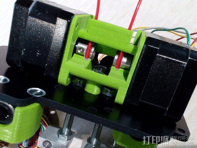 迷你双挤出机 3D模型  图24