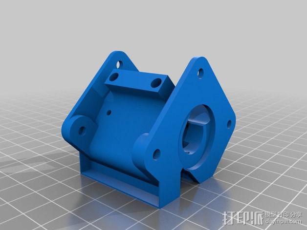 迷你双挤出机 3D模型  图35