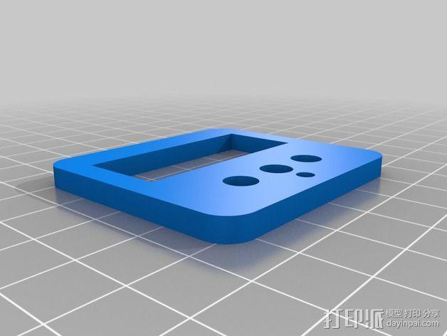 迷你双挤出机 3D模型  图39