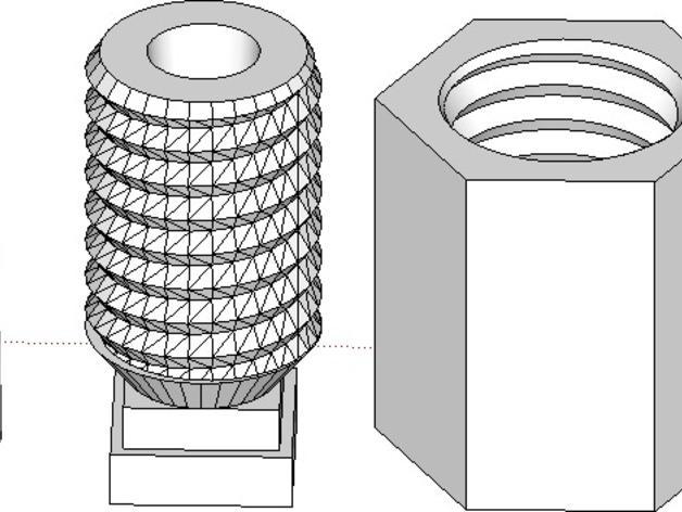 Rostock BI V1.0 3D打印机 3D模型  图8