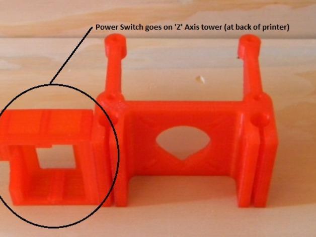 Rostock BI V1.0 3D打印机 3D模型  图11