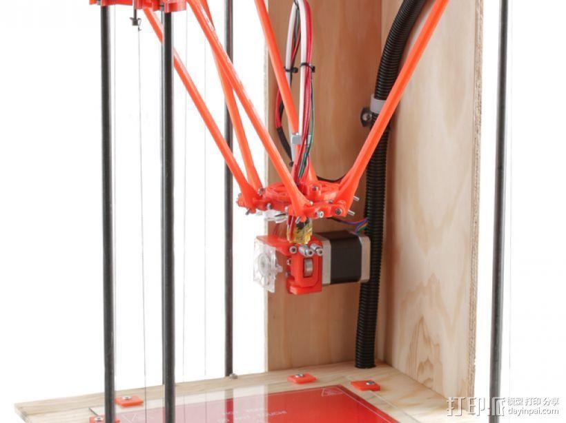 Rostock BI V1.0 3D打印机 3D模型  图20