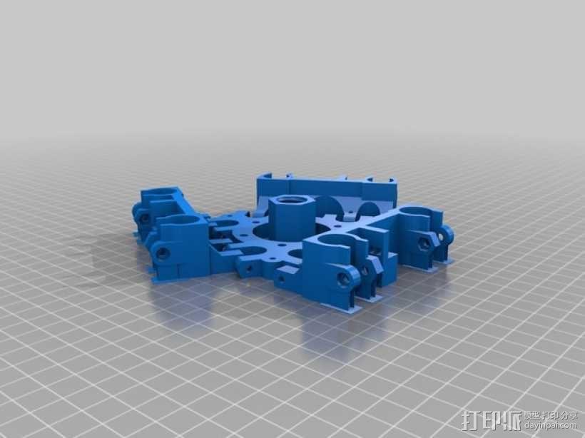Rostock BI V1.0 3D打印机 3D模型  图23