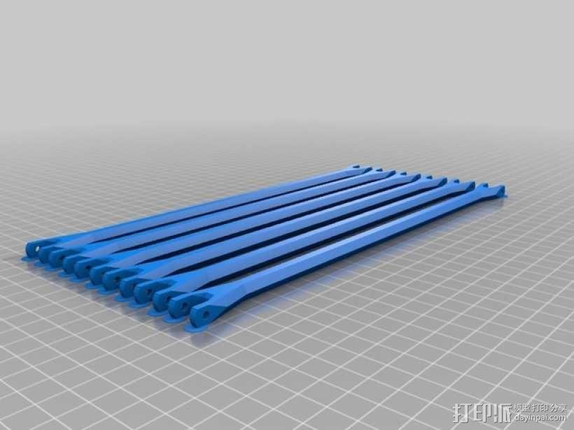 Rostock BI V1.0 3D打印机 3D模型  图26