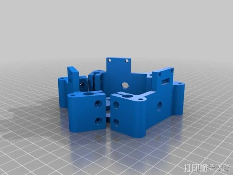 Rostock BI V1.0 3D打印机 3D模型  图27