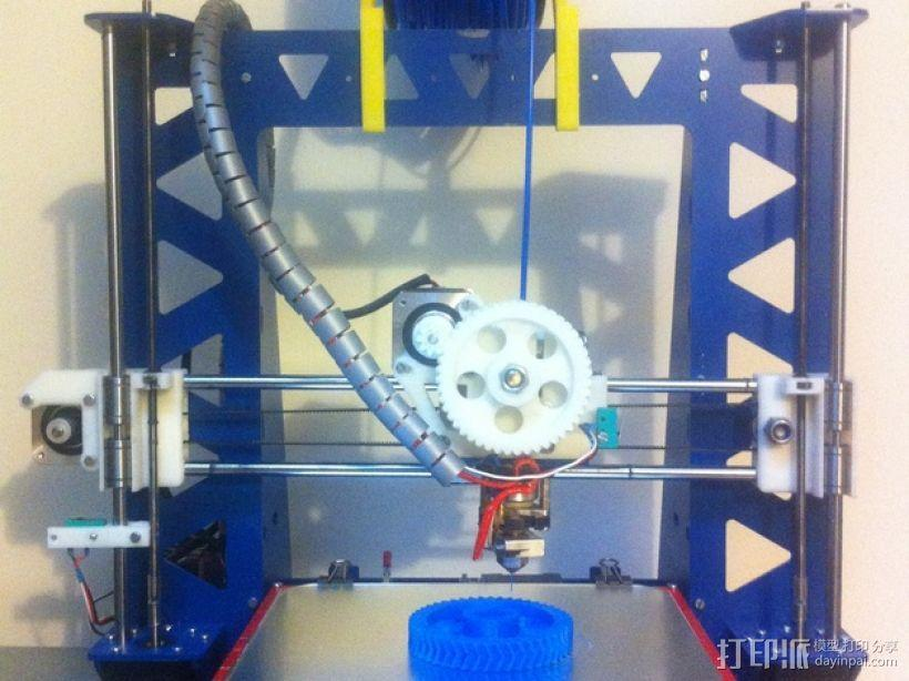 P3Steel - Prusa i3 3D打印机 3D模型  图1