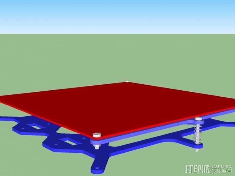 P3Steel - Prusa i3 3D打印机 3D模型  图7