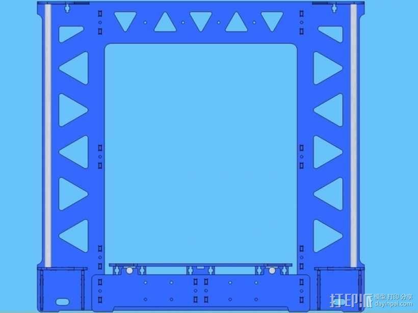 P3Steel - Prusa i3 3D打印机 3D模型  图11