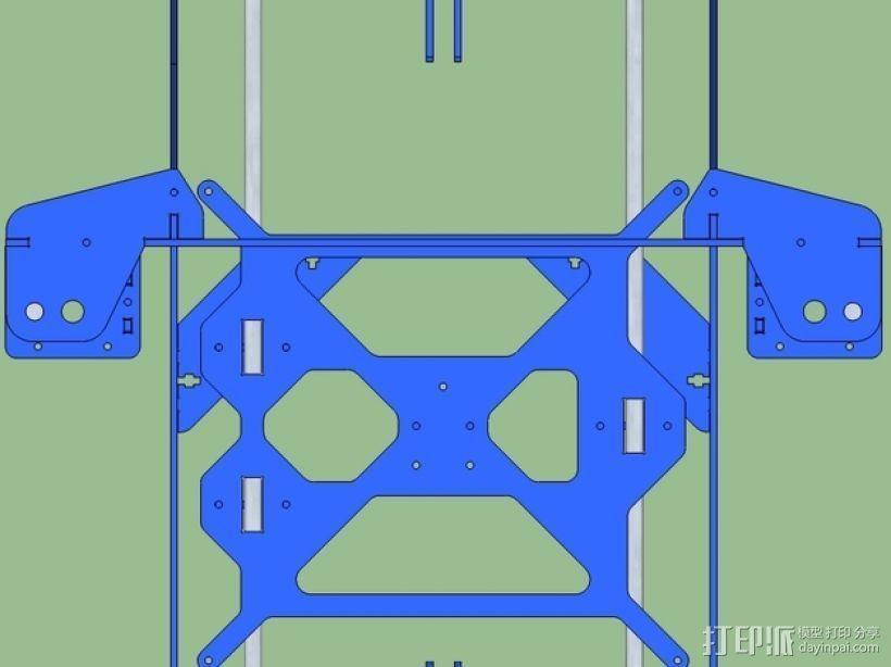 P3Steel - Prusa i3 3D打印机 3D模型  图13