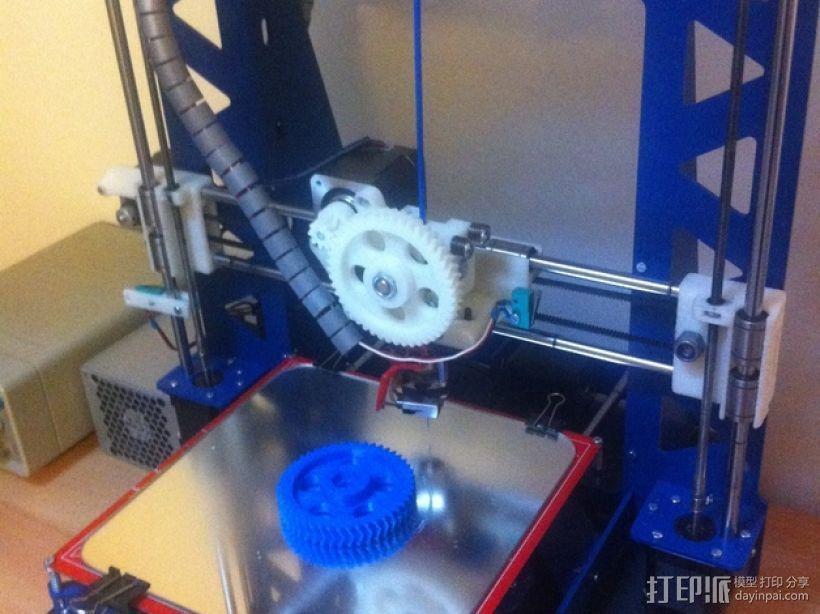 P3Steel - Prusa i3 3D打印机 3D模型  图16