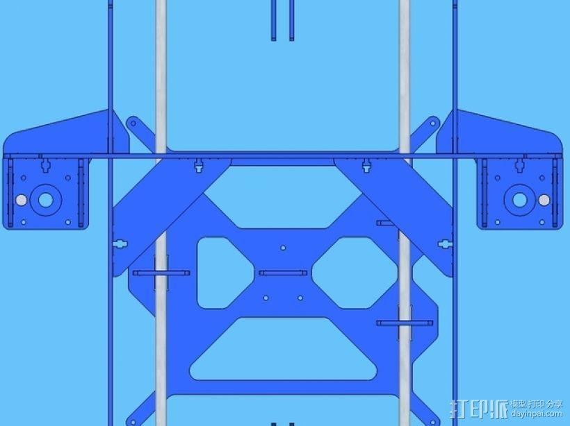 P3Steel - Prusa i3 3D打印机 3D模型  图14