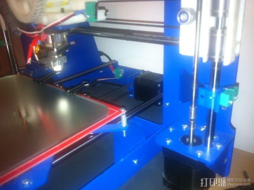P3Steel - Prusa i3 3D打印机 3D模型  图22