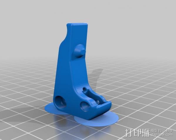 Replicator 2 3D打印机挤出机 3D模型  图2