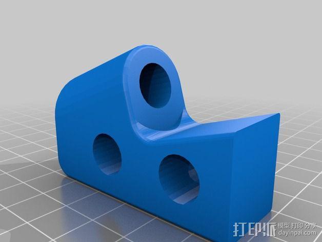 Prusa i3 3D打印机外壳支架 3D模型  图3