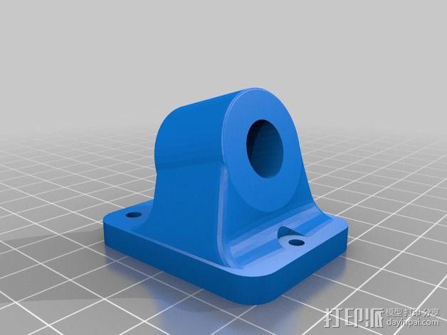 Prusa i3 3D打印机外壳支架 3D模型  图2