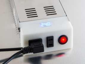 电源盖 3D模型