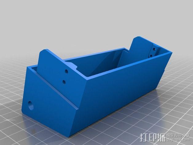 电源盖 3D模型  图3