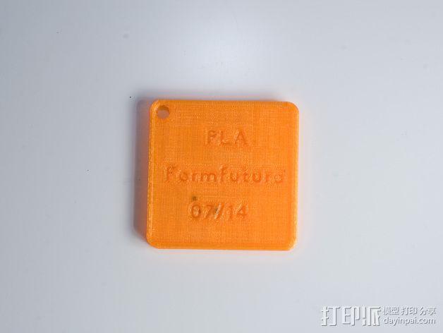 线材样品标签 3D模型  图9