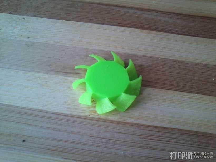 风扇扇叶 3D模型  图1