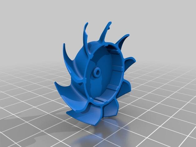 风扇扇叶 3D模型  图2